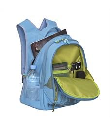 Фото 4. RD-752-2 Рюкзак школьный Grizzly голубой