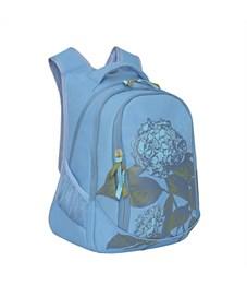 Фото 2. RD-752-2 Рюкзак школьный Grizzly голубой