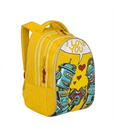 Фото 2. RD-758-1 Рюкзак школьный Grizzly желтый