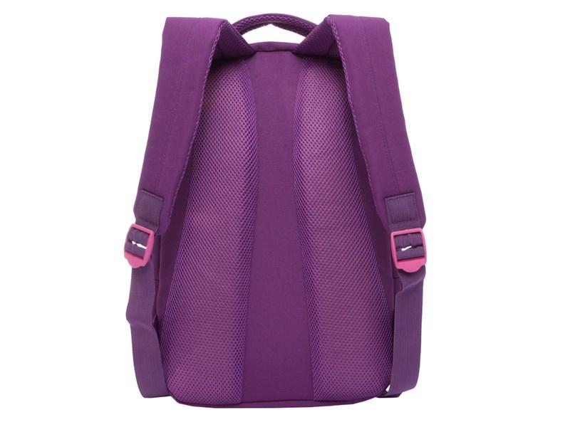 a915c508311d RD-758-3 Рюкзак школьный Grizzly фиолетовый совы