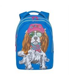 RD-758-3 Рюкзак школьный Grizzly синий