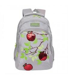 RG-062-1 Рюкзак школьный (/2 светло-серый)
