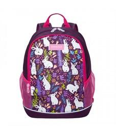 RG-063-1 Рюкзак школьный (/2 фиолетовый)