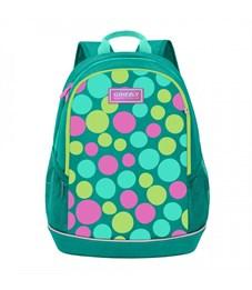 RG-063-5 Рюкзак школьный (/1 бирюзовый)
