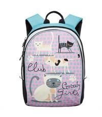 RG-658-3 Рюкзак школьный Grizzly розовый-мята
