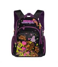 RG-662-1 Рюкзак школьный Grizzly черный