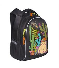 Фото 2. RG-762-1 Рюкзак школьный Grizzly черный