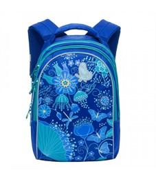RG-767-3 Рюкзак школьный Grizzly синий
