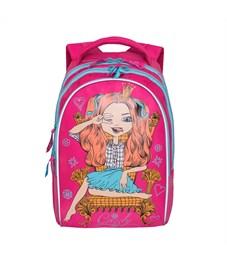 RG-768-2 Рюкзак школьный Grizzly розовый