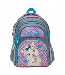 RG-865-3 Рюкзак школьный (/4 серый - жимолость)