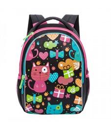 RG-868-1 Рюкзак школьный Grizzly (/2 черный)