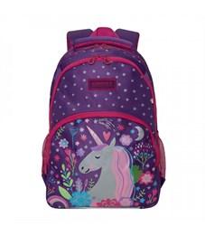 RG-966-1 Рюкзак школьный (/2 фиолетовый)