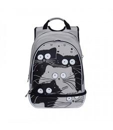 RG-968-1 Рюкзак школьный (/4 светло-серый)