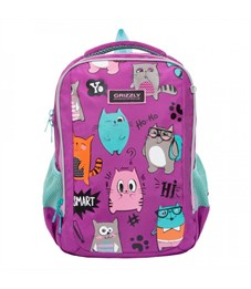 RG-969-2 Рюкзак школьный (/1 фиолетовый)