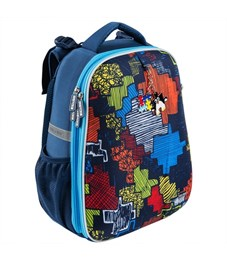 Школьный рюкзак Mike Mar Пазл синий