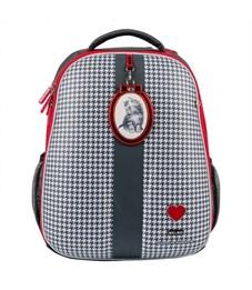 Фото 2. Школьный рюкзак Mike Mar Котенок т.серый/красный кант