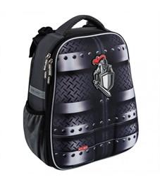 Школьный рюкзак Mike Mar Рыцарь т.серый