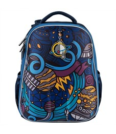 Фото 2. Школьный рюкзак Mike Mar Космос т.синий