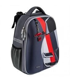 Школьный рюкзак Mike Mar Машина т.серый
