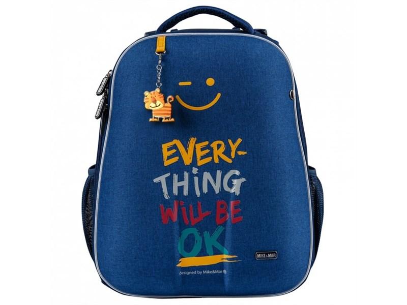 Школьный рюкзак Mike Mar Ok джинсовый