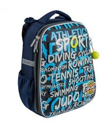 Школьный рюкзак Mike Mar Спорт синий/т.серый