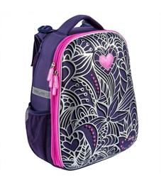 Школьный рюкзак Mike Mar Цветы фиолетовый