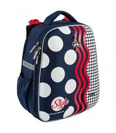 Школьный рюкзак Mike Mar Стиль т.синий/красный