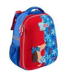 Школьный рюкзак Mike Mar Такса т.синий/красный