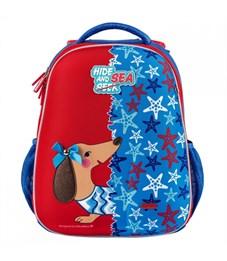Фото 2. Школьный рюкзак Mike Mar Такса т.синий/красный
