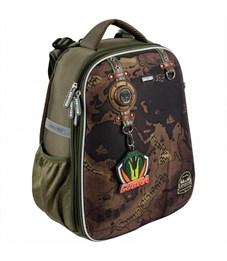 Школьный рюкзак Mike Mar Travel (Car Badg) хаки