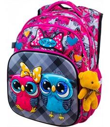 Рюкзак школьный Winner 8050 + брелок-мишка