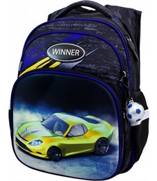 Рюкзак школьный Winner 8054 + брелок-мячик