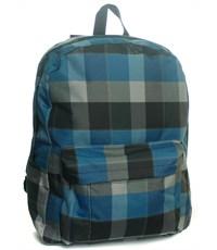 Рюкзак школьный 3D Bags Клетка