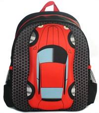 Фото 2. Детский рюкзак 3D Bags Машина красный