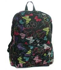 Рюкзак школьный 3D Bags Радужные бабочки