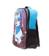 Фото 2. Рюкзак школьный 3D Bags Самолет черный с синим