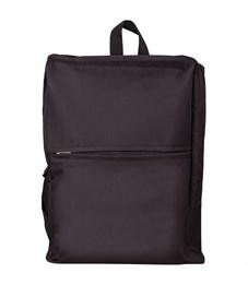 """Рюкзак ArtSpace """"Casual"""" 39*29,5*10см, 1 отделение, 1 карман, уплотненная спинка, черный"""