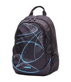 """Рюкзак Berlingo b_Active """"Blue"""" 41*30*17см, 2 отделения, 4 кармана, эргономичная спинка"""