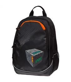 """Рюкзак Berlingo b_Active """"Cube"""" 41*30*17см, 2 отделения, 4 кармана, эргономичная спинка"""