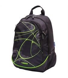 """Рюкзак Berlingo b_Active """"Green"""" 41*30*17см, 2 отделения, 4 кармана, эргономичная спинка"""