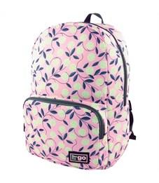 """Рюкзак Berlingo Casual """"Pink"""" 42*29*14см, 1 отделение, 2 кармана, уплотненная спинка"""