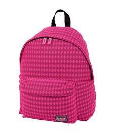"""Рюкзак Berlingo Casual """"Pink mesh"""" 38*29*12см, 1 отделение, 1 карман"""
