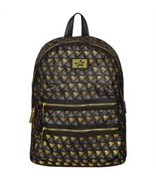 """Рюкзак Berlingo Fashion """"Golden bees"""" 37*28*15см, 1 отделения, 2 кармана, уплотненная  спинка"""