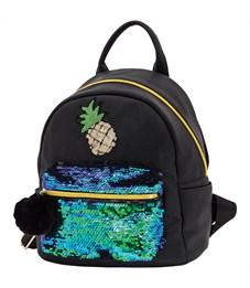 """Рюкзак Berlingo Glam Style """"Pineapple"""" 26*21*12см, 1 отделение, 3 кармана, уплотненная спинка"""