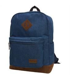 """Рюкзак Berlingo Городской """"City blue"""" 41*31*18см, 1 отделение, 2 кармана, уплотненная спинка"""
