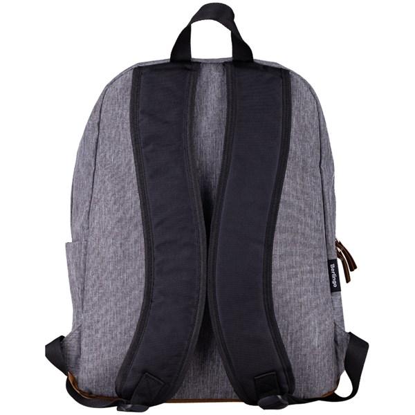 """Рюкзак Berlingo Городской """"City grey """" 41*31*18см, 1 отделение, 2 кармана, уплотненная спинка"""