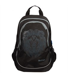 """Рюкзак Berlingo Style """"Lion"""" 42*30*17см, 2 отделения, 4 кармана, эргономичная спинка"""