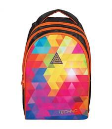 """Рюкзак Berlingo Style """"Techno"""" 42*30*20см, 3 отделения, 1 карман, эргономичная спинка"""