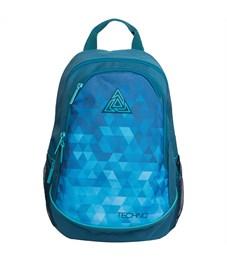 """Рюкзак Berlingo Style """"Techno blue"""" 42*30*17см, 2 отделения, 4 кармана, эргономичная спинка"""