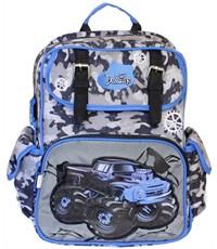 Фото 2. Рюкзак школьный De Lune Внедорожник милитари 51-04 синий